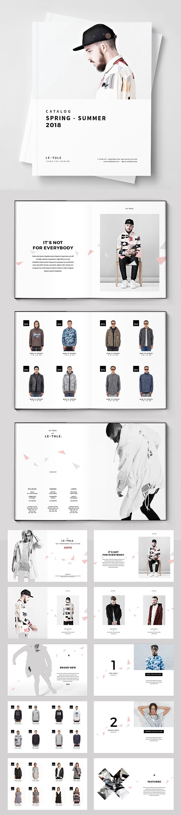 catalogues layouts