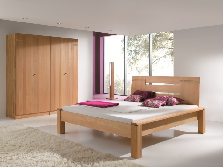 30 best bettkonzept solid wood beds images on pinterest solid wood wood beds and wooden bed. Black Bedroom Furniture Sets. Home Design Ideas