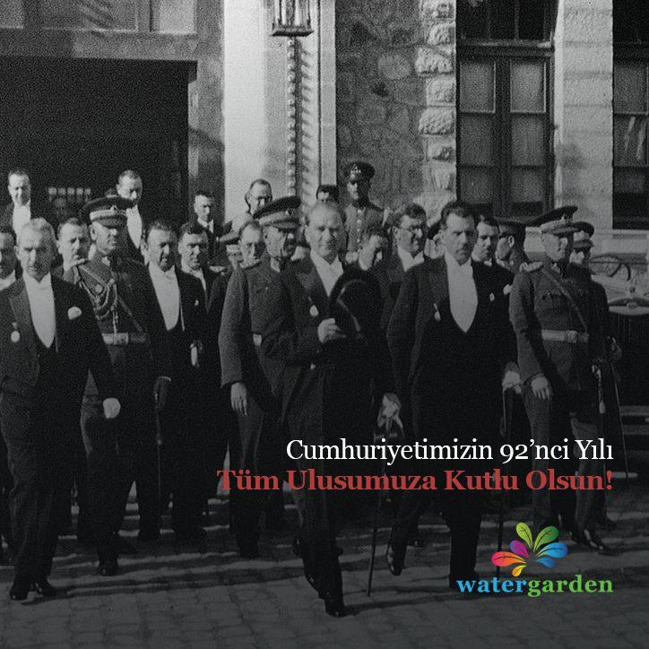 Cumhuriyetimizin 92'nci Yılı Tüm Ulusumuza Kutlu Olsun!