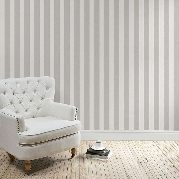 Best 25 Grey Striped Wallpaper Ideas On Pinterest Striped Wallpaper For Living Room Striped