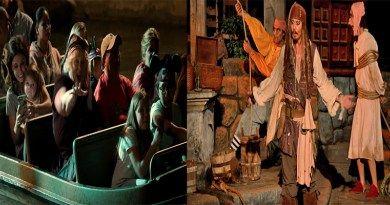 Great! Johnny Depp hace aparición en Disneyland como el capitán Jack Sparrow y sorprende a los aficionados. (Vídeo)