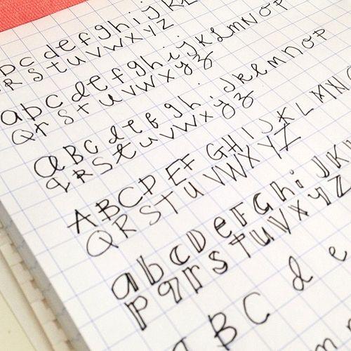 Come migliorare la vostra scrittura a mano - Cuore a mano uk