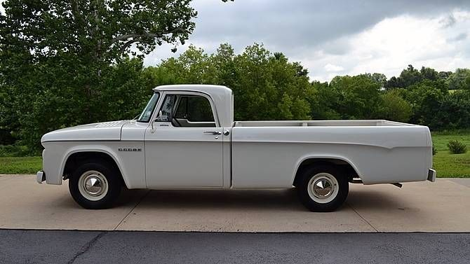 1964 Dodge D100 Sweptline Pickup Oldpickuptruck Dodge Pickup