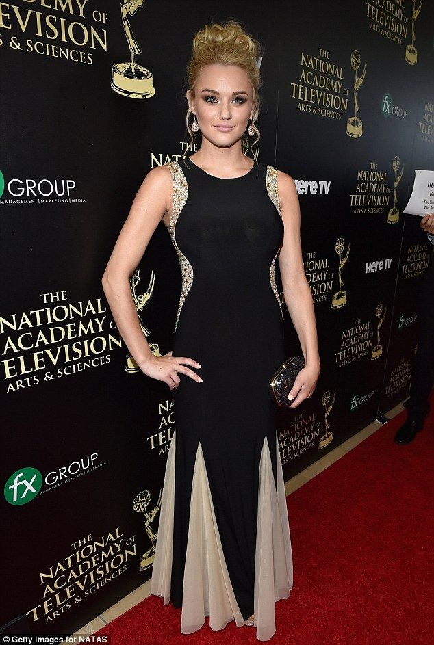 Actress Hunter King attends the 41st Annual Daytime Emmy Awards at The Beverly Hilton