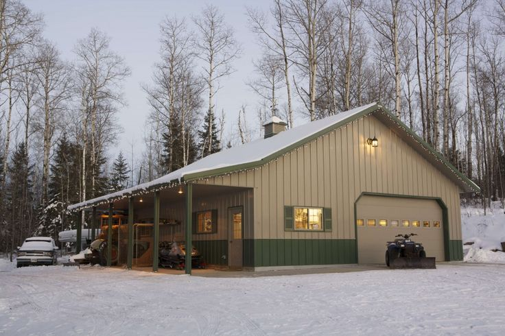 149 best images about pole barn garage designs on for Garage built homes