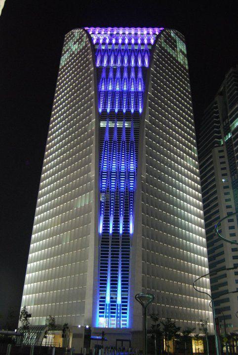 Jafri Merican Architect: 4G9 Tower: Facade Lighting