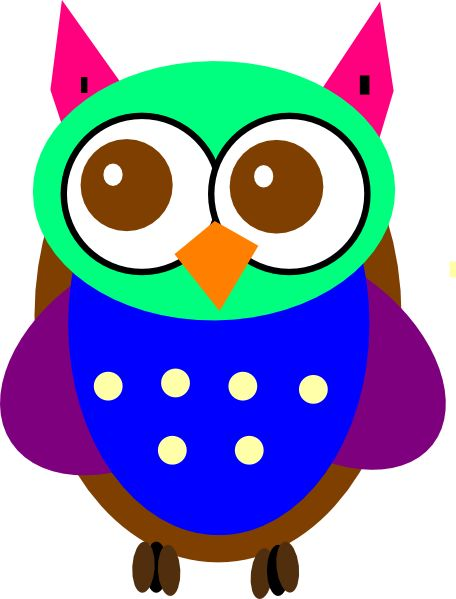 cartoon owls | Colorful Cartoon Owl Pictures