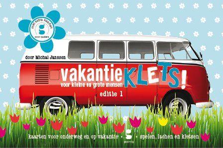 Gezinnig Vakantieklets! - editie 1. Nu ook verkrijgbaar bij Webshops Only Concept Store, Vughterstraat 47 's-Hertogenbosch