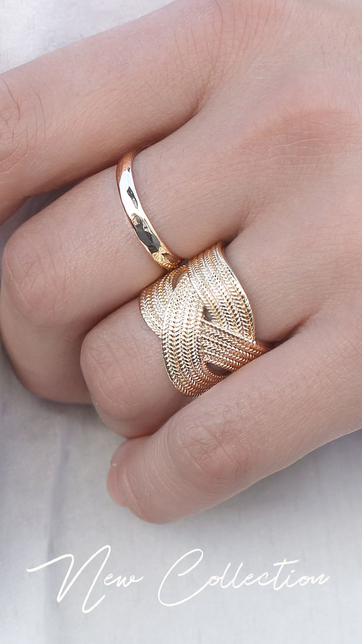 32 best Textured Rings images by Ana Luisa on Pinterest | Colored ...