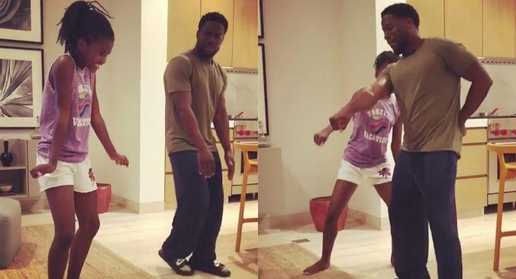 kevin hart daughter dance