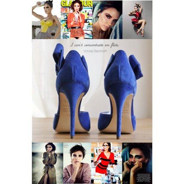 The forever posh #VictoriaBeckham on meditation. #shoelovers #shoelove #shoequotes #celebrity #jakiishoes #shoes #heels #shoestagram #instashoes
