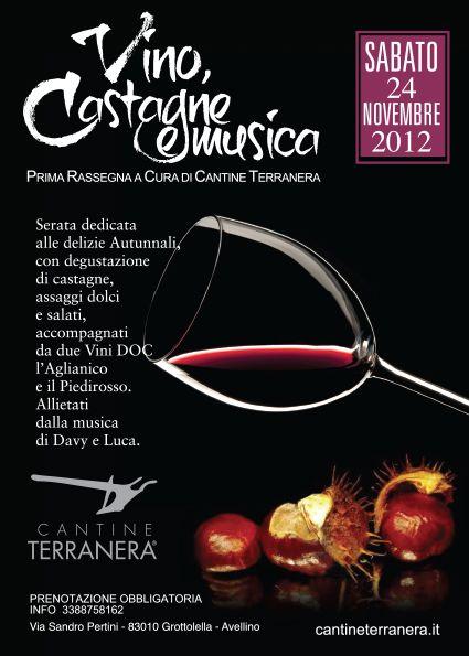 Novembre 2012 - Cantine Terranera - Tel 0825.671455  Cell 338 875 8162 info@cantineterranera.it