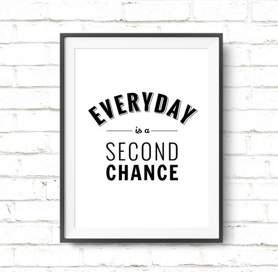 Motivational Quote Printable Art Everyday is a by ArtCoStore