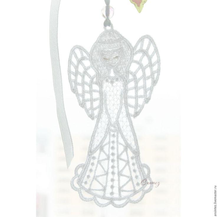 Купить Ангел на счастье воздушный подвеска для мобиля игрушка детская - ангел с крыльями, ангелочек на счастье