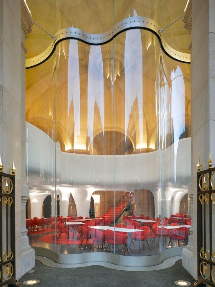 Roland Halbe - www.rolandhalbe.de, Studio Odile Decq · Phantom - Restaurant of the Garnier Opera · Divisare