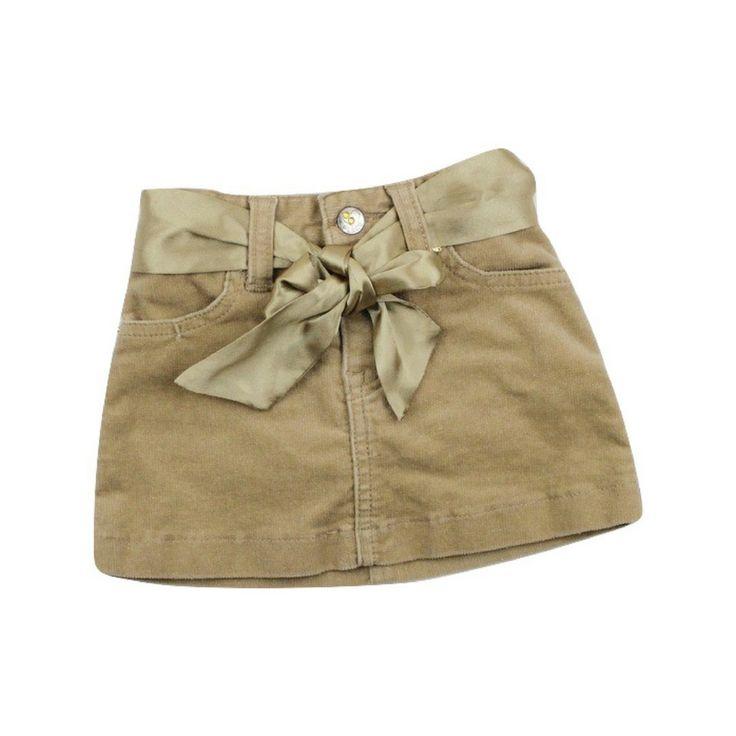 Children's Place Beige Stretch Sparkly Skirt with Undershorts, Size 18 Months, $4.50