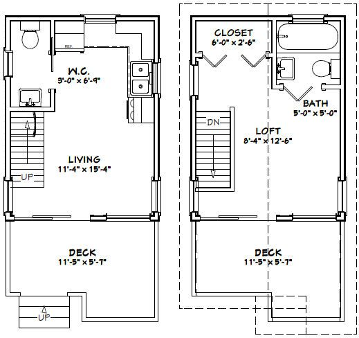 86 best images about tiny house plans on pinterest tiny Workshop plans 12x16