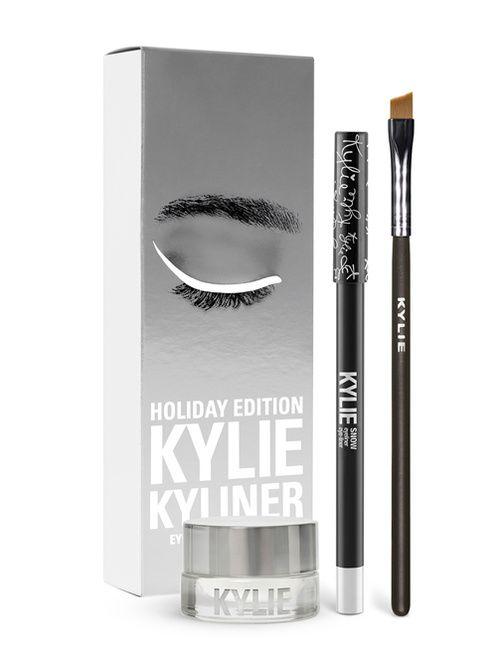 L'eye-liner blanc de la collection Holiday Collection de Kylie Cosmetics
