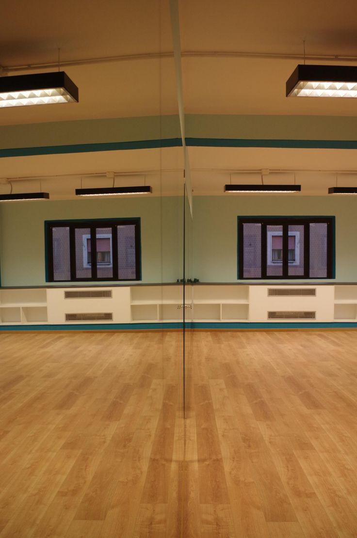 la sala blu, calda e accogliente! #nuovasede #viamontenevoso16