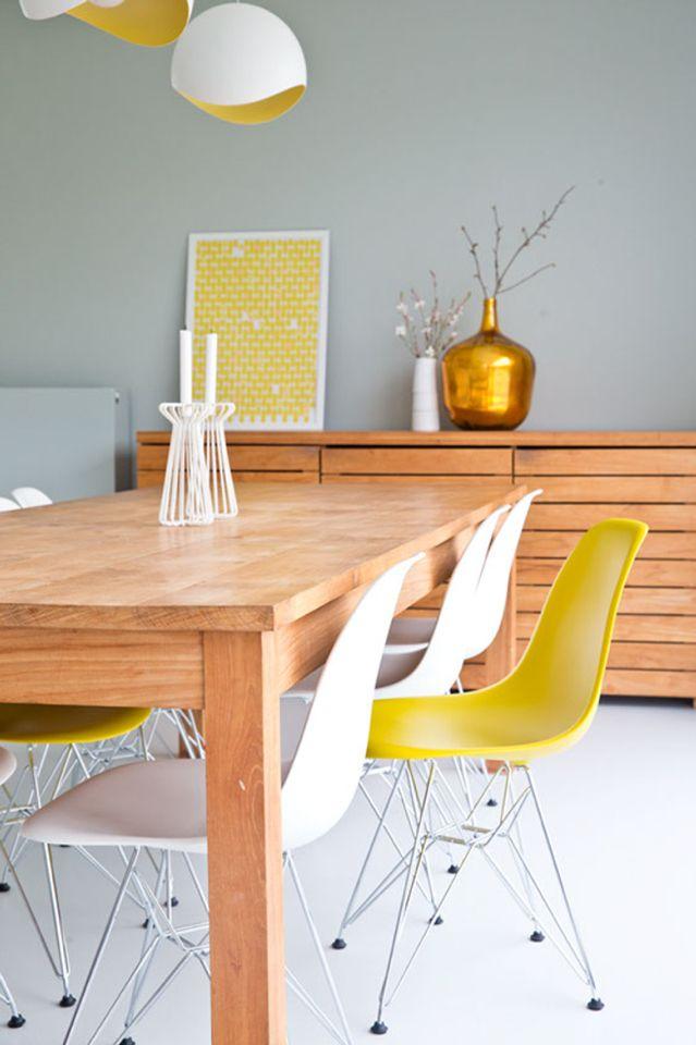 Meer dan 1000 idee n over gele muur verven op pinterest gele muren lichtgele muren en - Deco witte keuken ...