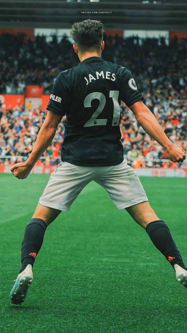 Daniel James Manchester United Wallpaper Effect Manchesterunited Football Manchester United Wallpaper Manchester United Team Manchester United Football