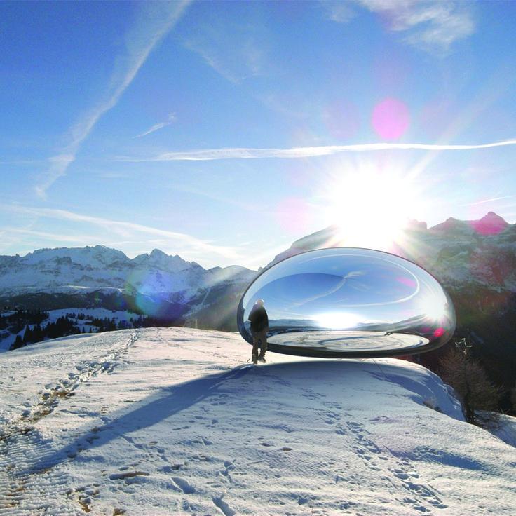 Ross Lovegrove. Alpine capsule. Alta Badia