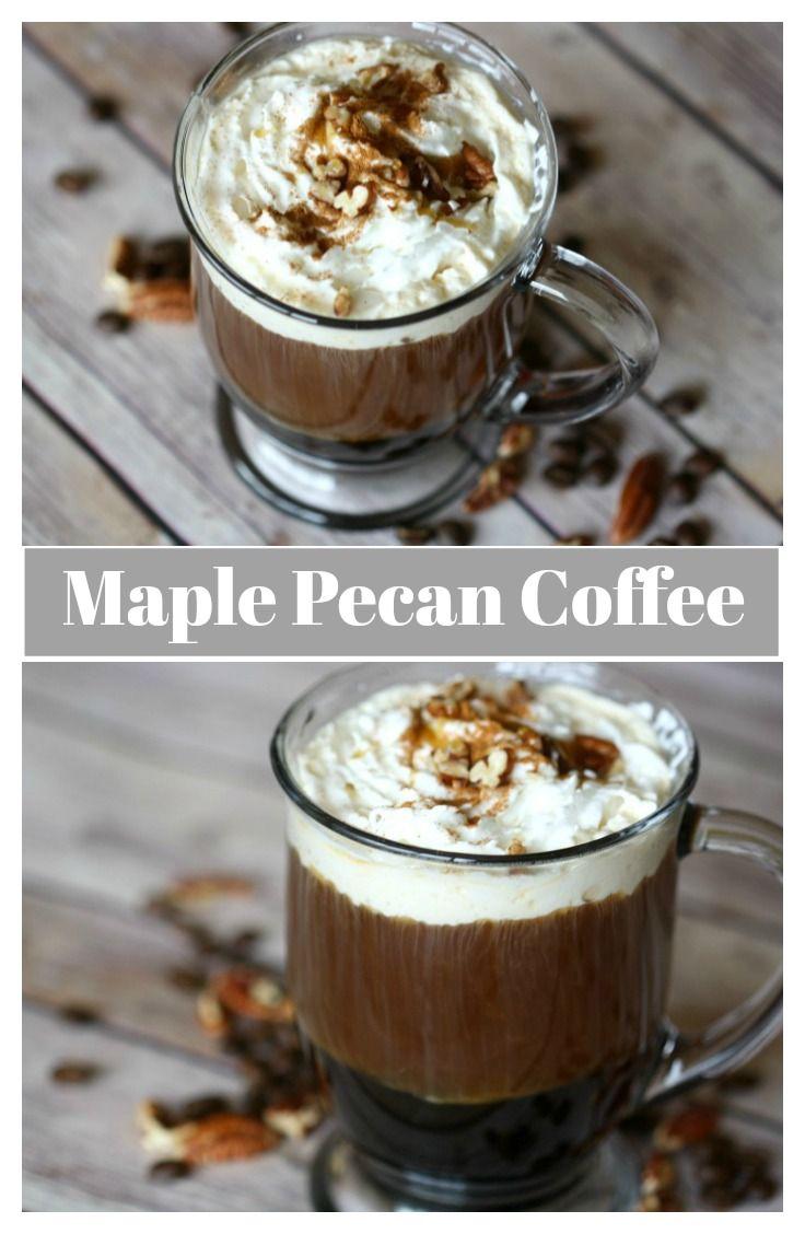 Maple Pecan Coffee | The Mama Report