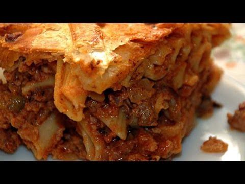 Timpana recipe - Maltese Cuisine - YouTube