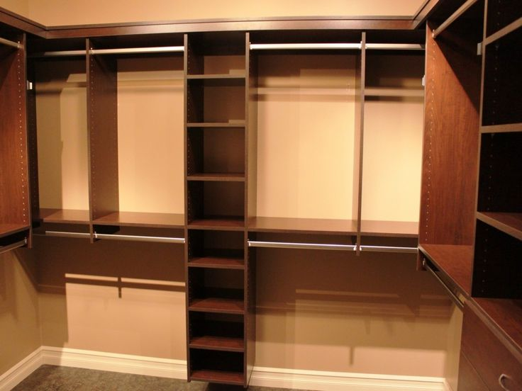 Walk in closet dimensions layout woodworking projects for Walk in closet measurements