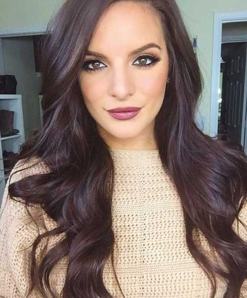 hair colour and styles for hair chocolate brown hair colour hair nails and makeup 5489
