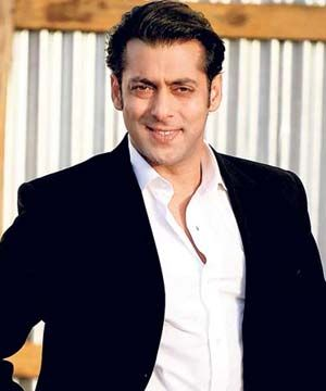 Bollywood actor Salman Khan.