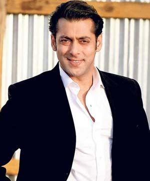 Bollywood actor Salman Khan.