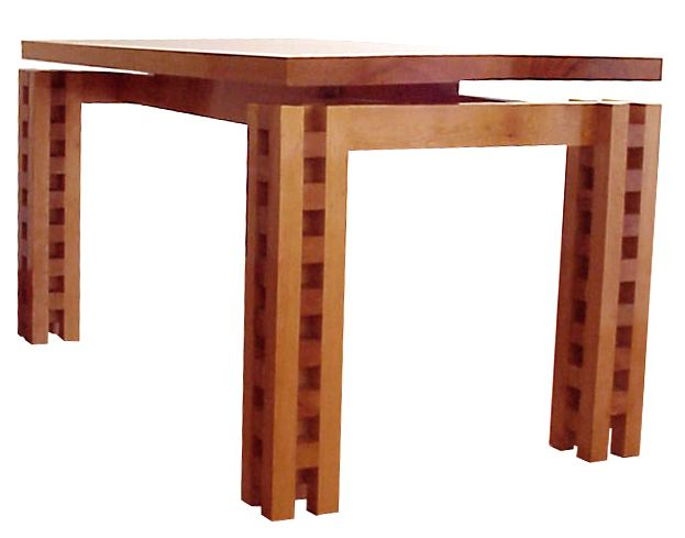 Isabel Table Industrial Design Chile