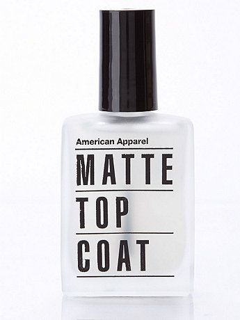 American Apparel // Matte Top Coat Nail Polish