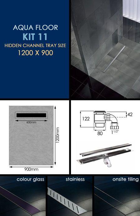 Wet Room Drains - Wet Room Shower Trays - Wet Room Kits