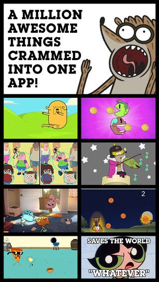 CARTOON NETWORK ANYTHING by Cartoon Network (2.5 MOVES / 3 LOOKS / 3.5 SMARTS)