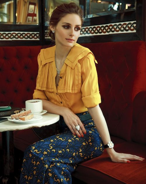 perfect autumn colors, Olivia Palermo