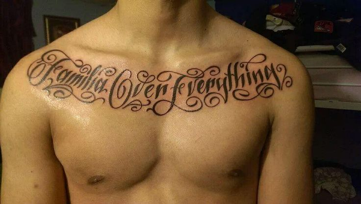 25+ best Family Over Everything Tattoo Quotes images by ...