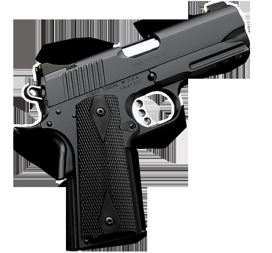 Kimber 1911 Pro TLE/RL II - A short-barrel version of the pistol carried by LAPD® SWAT plus an integral Kimber Tactical Rail™.
