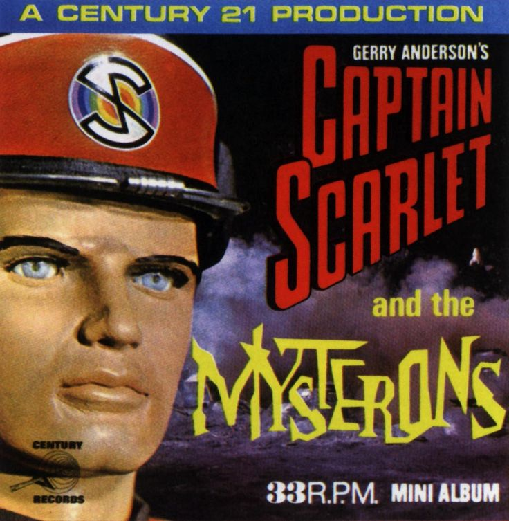 Captain Scarlet And The Mysterons (audio) - Gerry Anderson ...