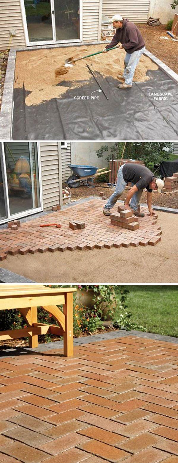 DIY Concrete Patio Cover Up Ideas Diy concrete patio