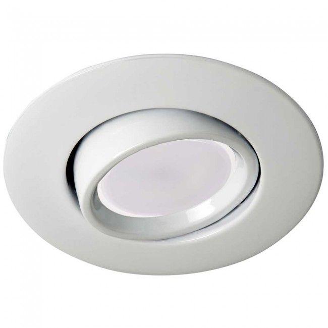 Foco De Empotrar Blanco Con Bombilla Led Luz Calida 8w Wonderlamp En 2020 Bombillas Led Bombillas Focos