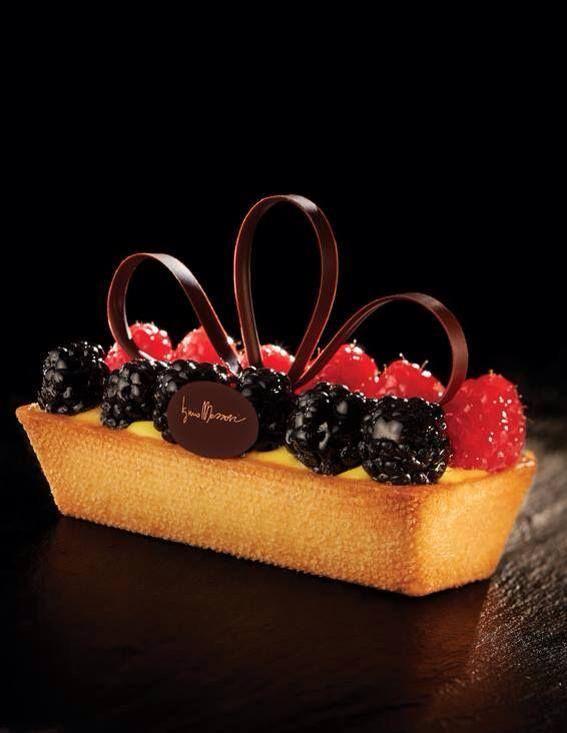 Fruit tart by Iginio Massari