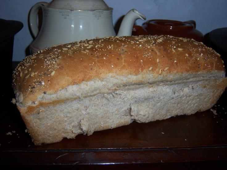Lactal con algo de centeno y semillitas de cebada para el desayuno