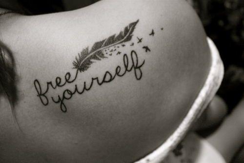 Free yourself. i looooove the font!