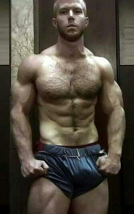 Hot hairy man