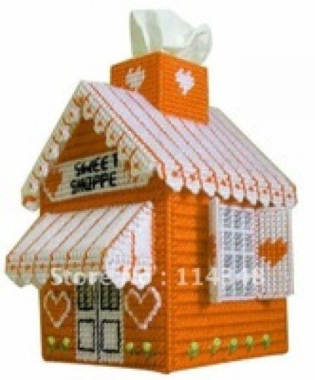 Ev Mendil kutu El Sanatları kiti Kendi ellerinizle yapacağınız şirin bir dekor peçete kutusu! Model Numarası:C5-3 Boyutu: 20cm * 14cm * 14cm