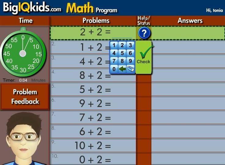 Big IQ Kids is an online K8 program that covers spelling
