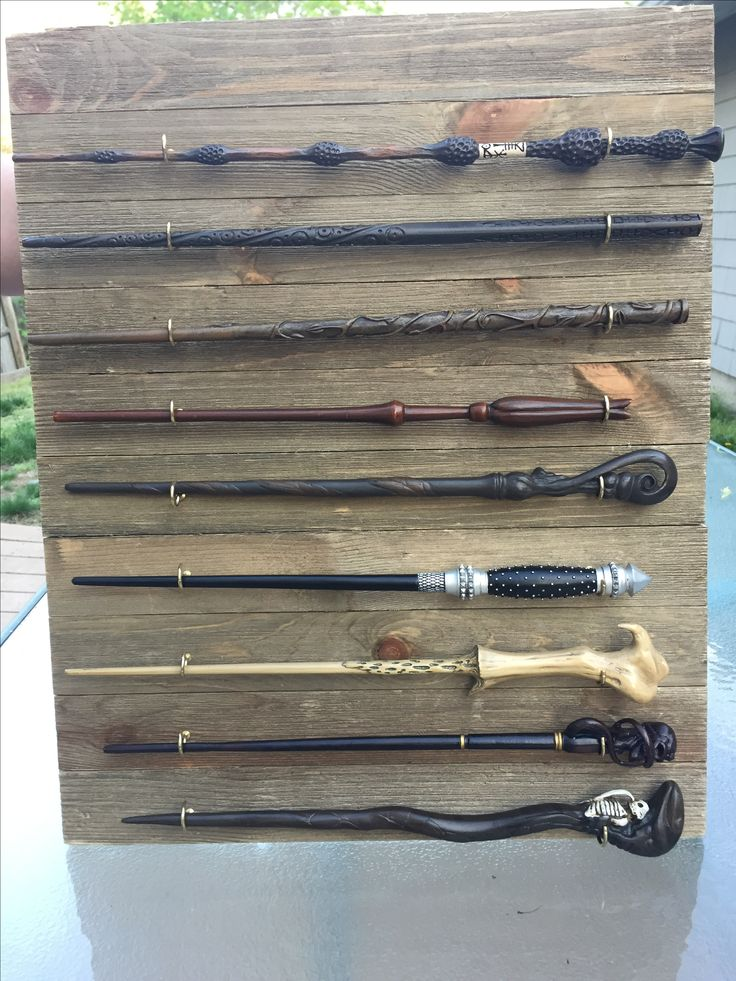 Harry Potter wand display! #harrypotter #hp #wands #diy #harrypotterdiy #wands