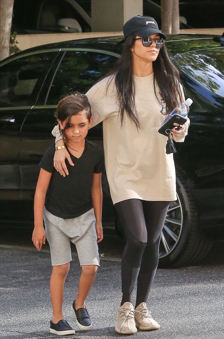 Kourtney Kardashian and Mason Disick                                                                                                                                                     More